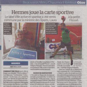 article presse le parisien ville hermes actives & sportive