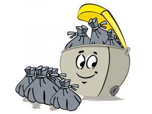 Collecte des déchets du 14 juillet