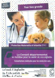 PMI (Protection Maternelle Infantile)