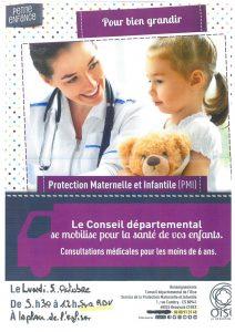 PMI (Protection Maternelle t Infantile)