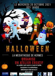 Fêtez Halloween à la médiathèque de Hermes